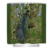 Damsel Fly Shower Curtain
