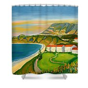 Dana Point Shower Curtain