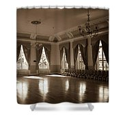 Dance Away Your Fears Shower Curtain