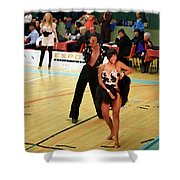 Dance Contest Nr 02 Shower Curtain
