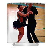 Dance Contest Nr 05  Shower Curtain
