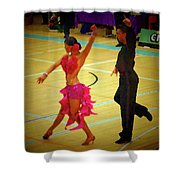 Dance Contest Nr 06 Shower Curtain