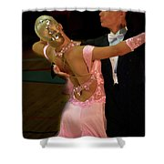 Dance Contest Nr 12 Shower Curtain