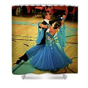 Dance Contest Nr 14 Shower Curtain