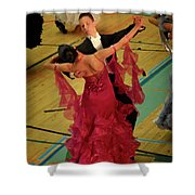 Dance Contest Nr 15 Shower Curtain