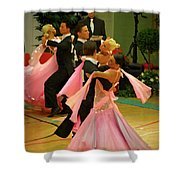 Dance Contest Nr 16 Shower Curtain
