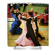 Dance Contest Nr 18 Shower Curtain