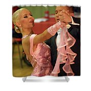 Dance Contest Nr 19 Shower Curtain