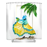 Dance De Belaire Shower Curtain