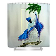 Dance De Pique Shower Curtain