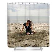 Dance Digital Shower Curtain