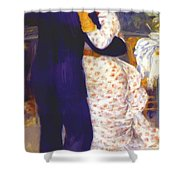 Dance In The Country 1883 1 Shower Curtain