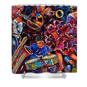 Dance Latino Shower Curtain