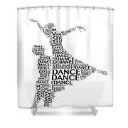 Dance Lift Shower Curtain