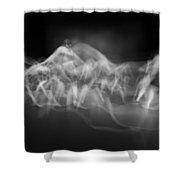 Dance Line 1 Shower Curtain