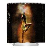 Dance Macabre Shower Curtain