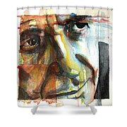 Dance Me To The End Of Love Shower Curtain
