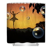Dance Of A New Day Shower Curtain