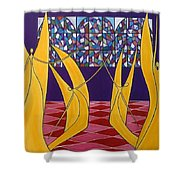 Dance Of Angels Shower Curtain