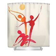 Dance Of Joy Shower Curtain