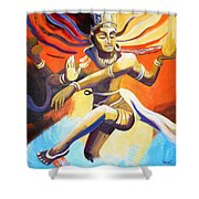 Dance Of Shiva Shower Curtain