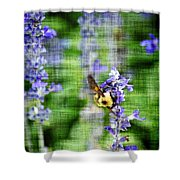 Dance Of The Bubblebee Shower Curtain