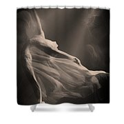 Dance Of The Ghost Shower Curtain