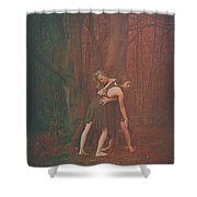 Dance Of The Mother And The Maiden Shower Curtain