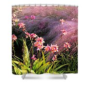 Dance Of The Orchids Shower Curtain
