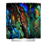 Dance Of The Seahorse  Shower Curtain