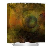 Dance Of The Spheres  Shower Curtain