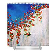 Dance Of The Spring Shower Curtain