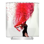Dance Of The Viel Shower Curtain