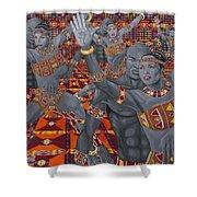 Dance Sankofa Shower Curtain