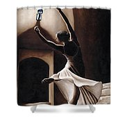 Dance Seclusion Shower Curtain by Richard Young