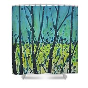Dance Shadow Shower Curtain