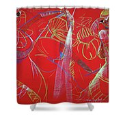 Dance Step Shower Curtain
