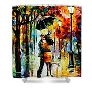 Dance Under The Rain Shower Curtain