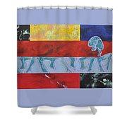 Dancefloor Shower Curtain