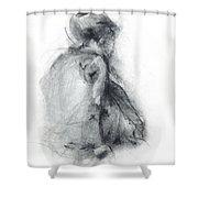 Dancer - Tender Shower Curtain