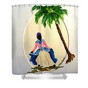 Dancer 2 Shower Curtain by Karin  Dawn Kelshall- Best