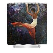 Dancer A Shower Curtain