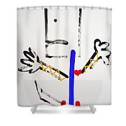 Ghost Dance Shower Curtain