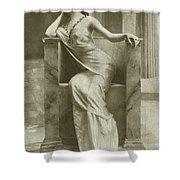 Edwardian Actress Suzy Mabel Shower Curtain