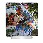 Dancer Day Of The Dead II Shower Curtain