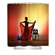Dancer In The Shadows Shower Curtain