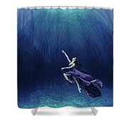 Dancer In The Water  Shower Curtain