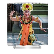 Dancer Of Bali Shower Curtain