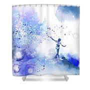 Dancer On Water 1 Shower Curtain