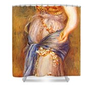 Dancer With Castanettes 1909 Shower Curtain